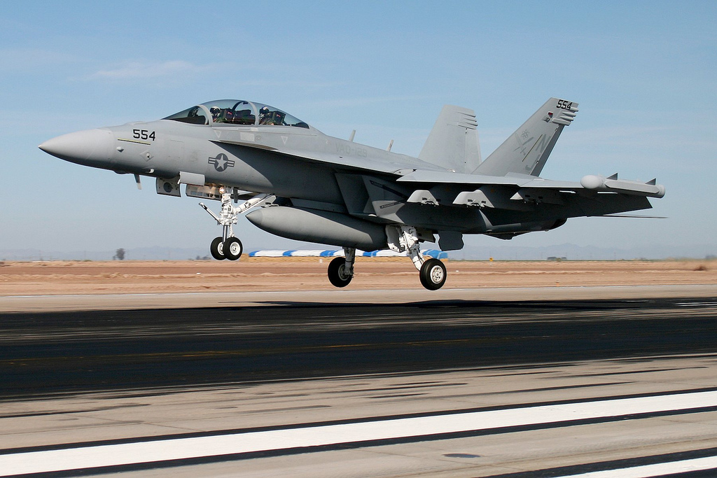 Aeroplans - Boeing E/A-18G Growler Grizzly