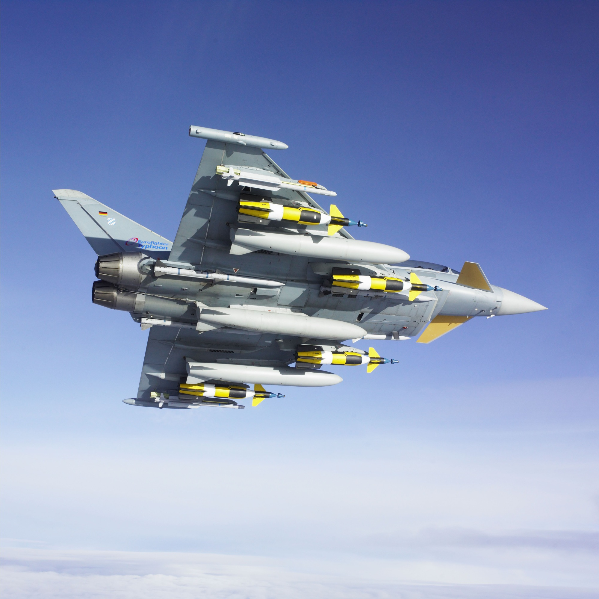 Aeroplans - Eurofighter (Crédits Eurofighter Gmbh)