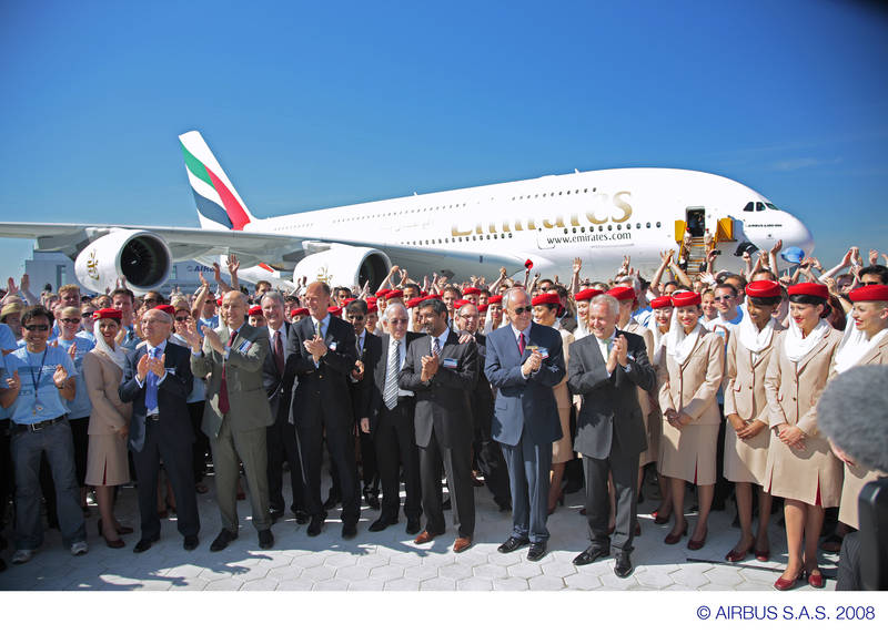 Aeroplans - L'A380 chez Emirates © Airbus S.A.S. 2008