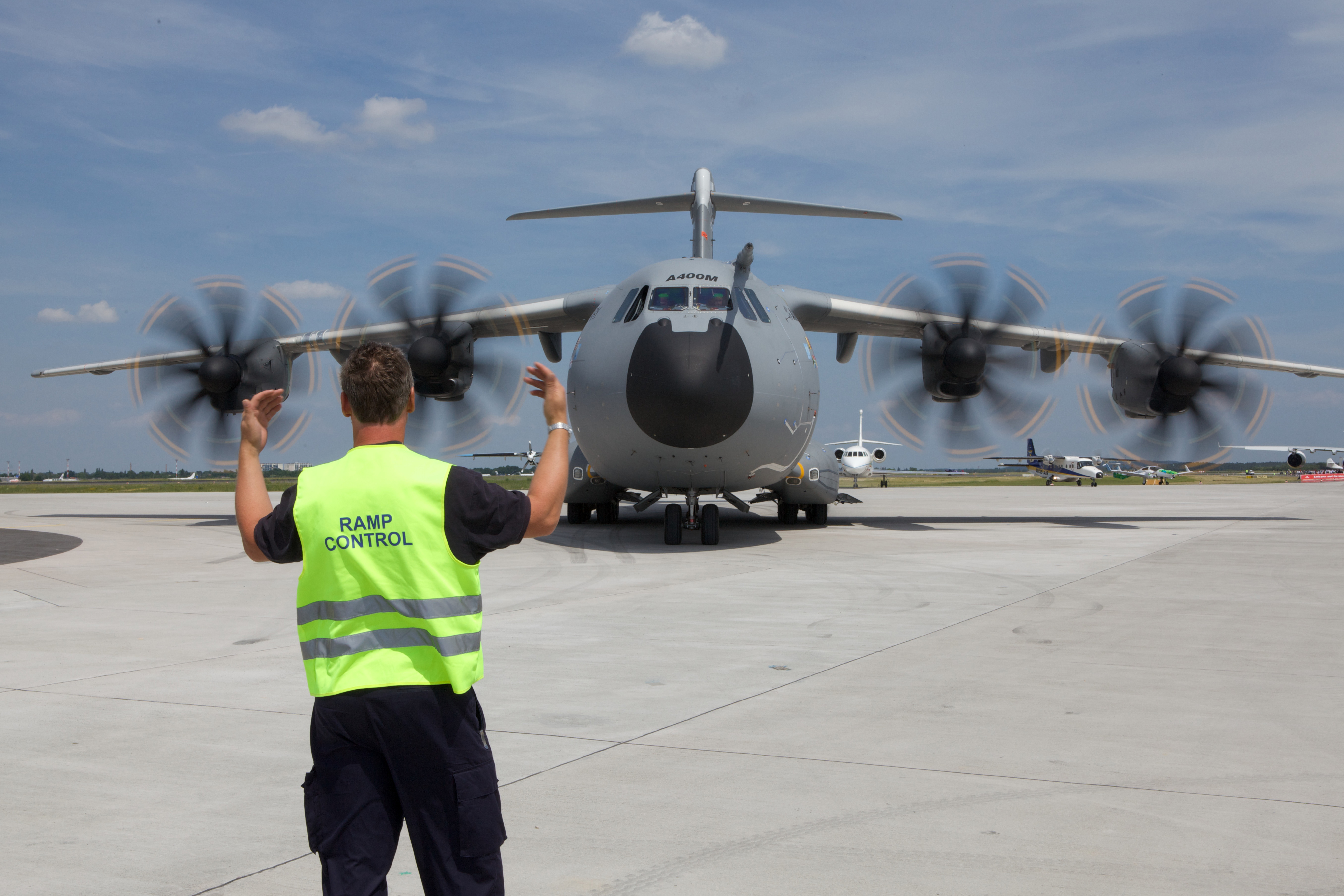 Aeroplans - A400M pendant ILA Berlin Airshow 2010 © Airbus Military