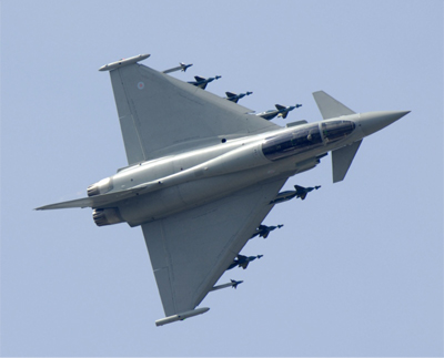 Aeroplans - Eurofighter Typhoon EADS