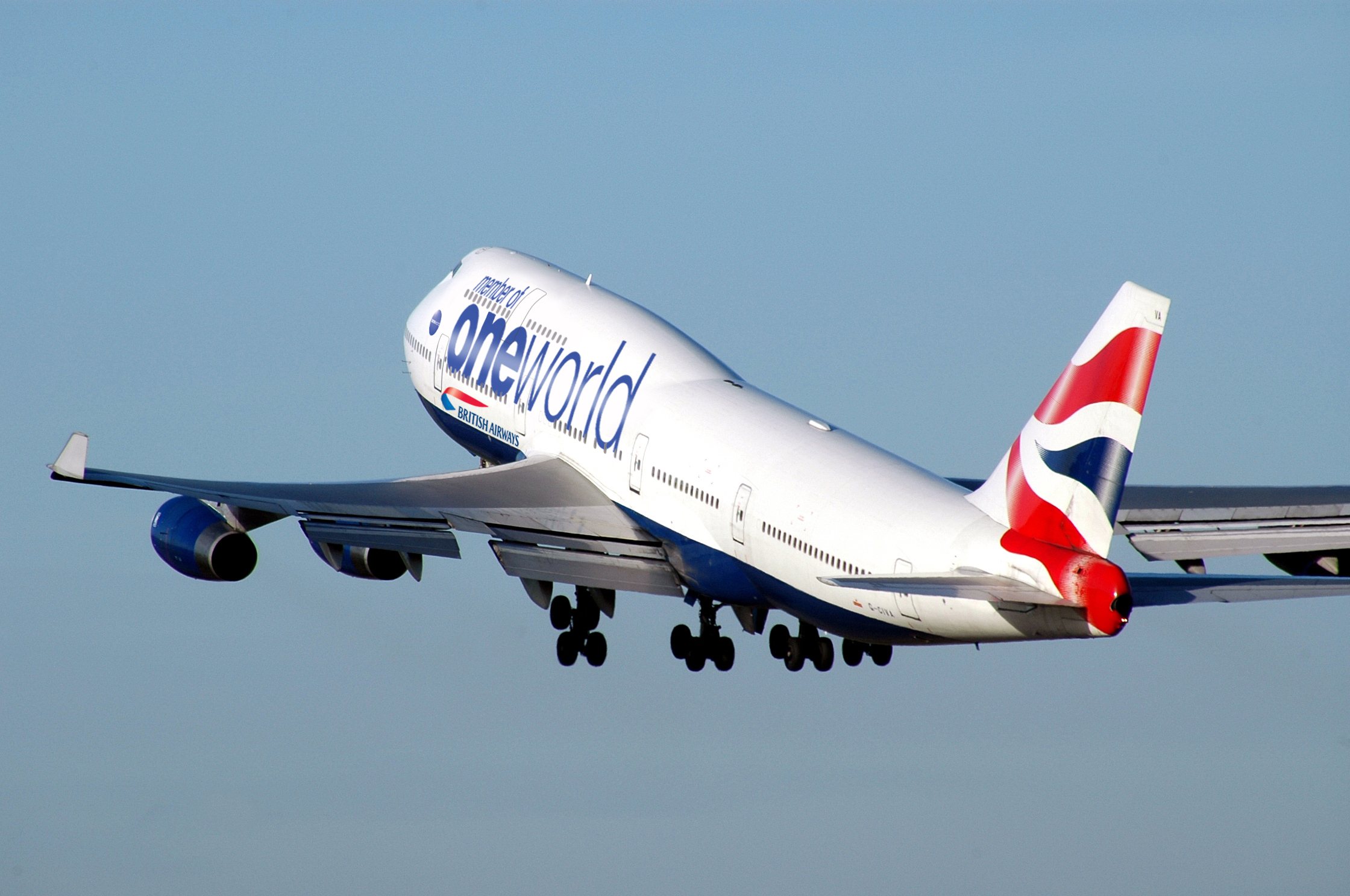Aeroplans - British Airways aux couleurs de oneworld