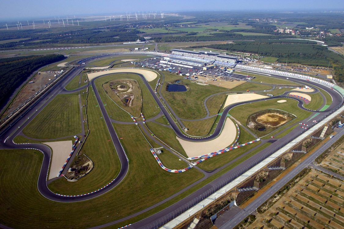 Aéroplans - Le tracé EuroSpeedWay de Lausitz (photo Getty Images).