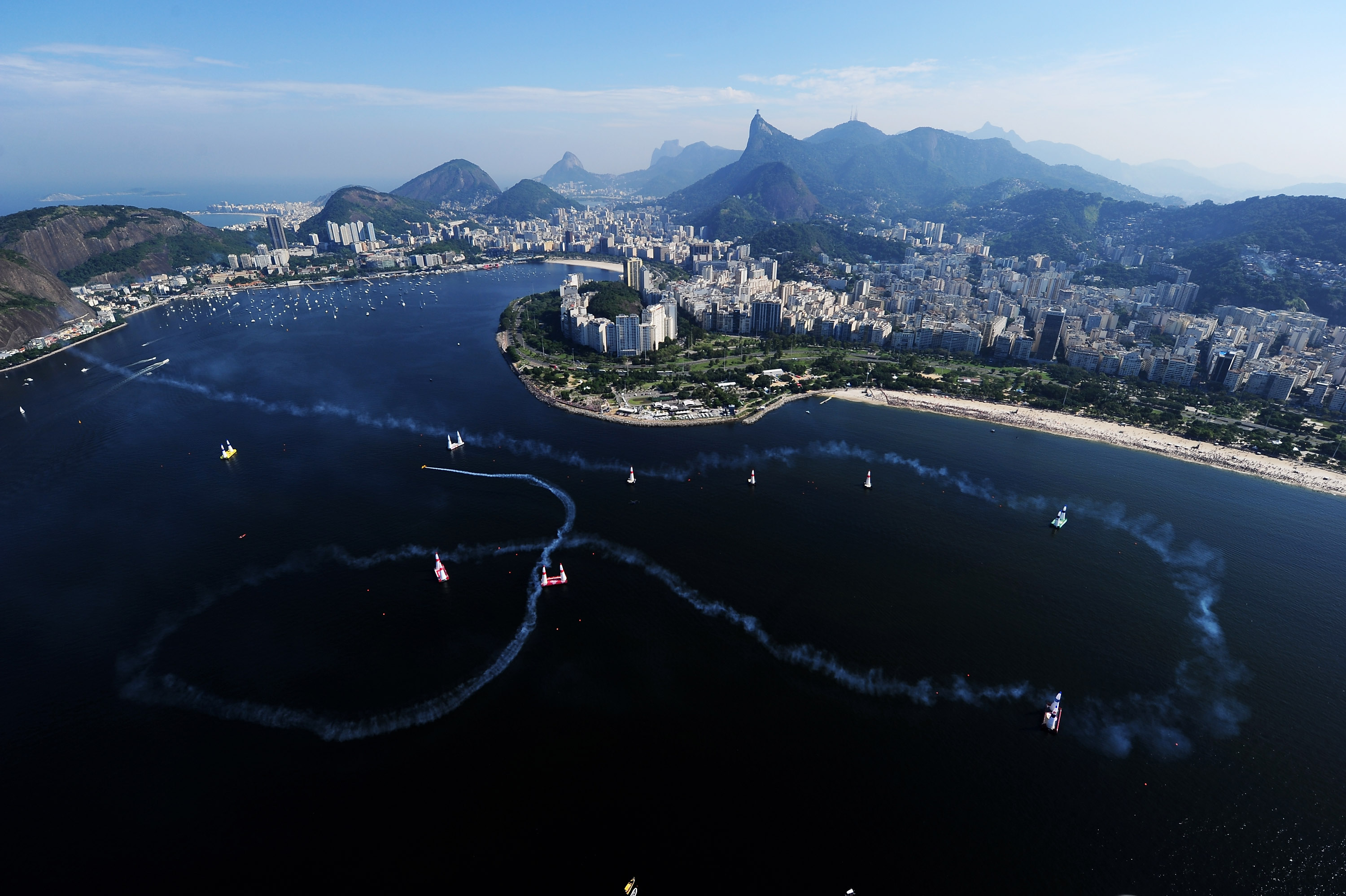 Aeroplans - Nigel Lamb à Rio by Mike Hewitt / Getty Images for Red Bull Air Race