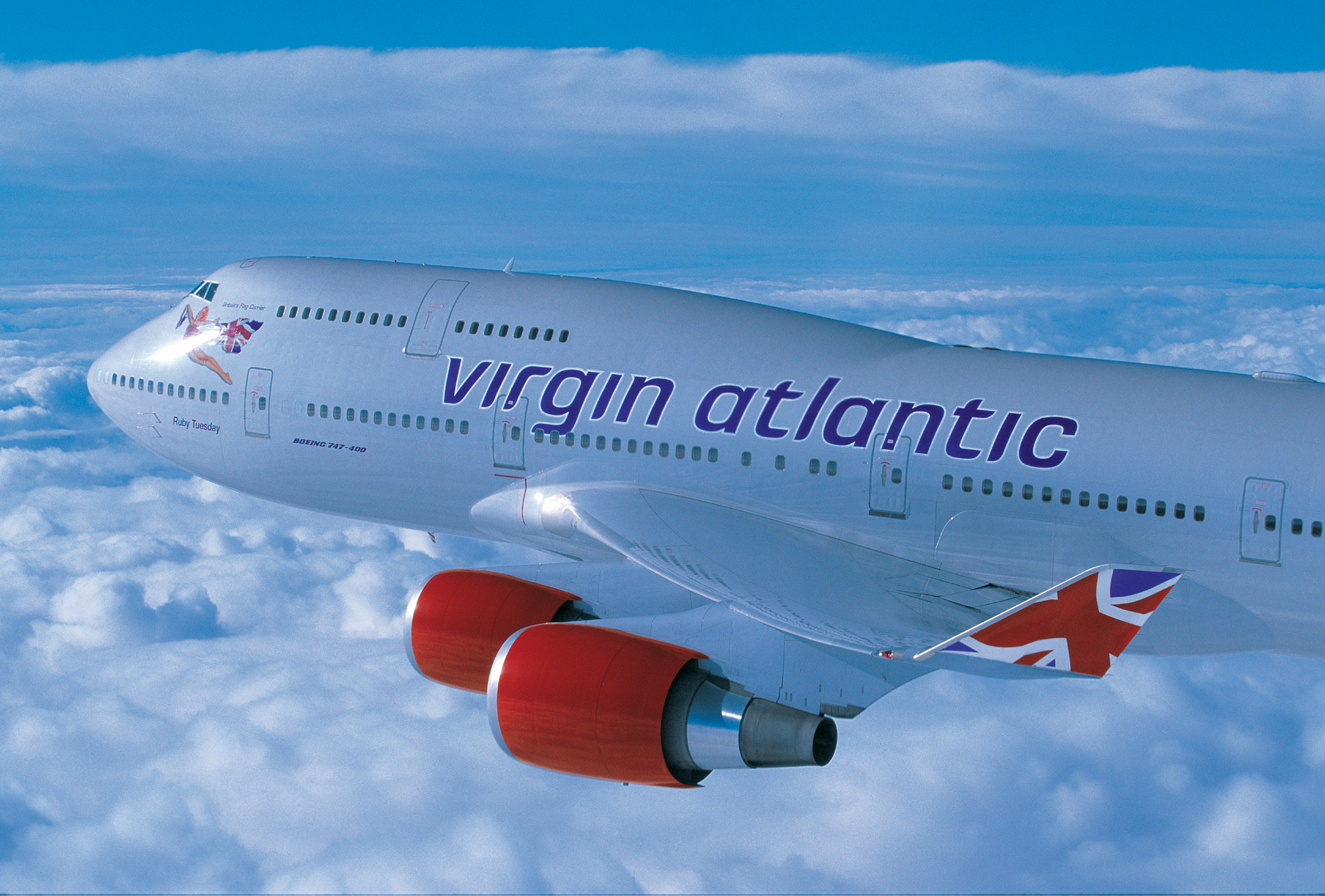 Aeroplans - B747 de Virgin Atlantic